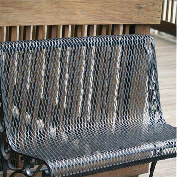 Aluminum Expanded Metal Sheet Outdoor Furniture Expanded Metal