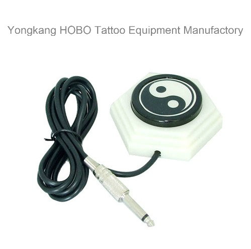 Aluminum Tattoo Power Supply Tattoo Machine Foot Switch
