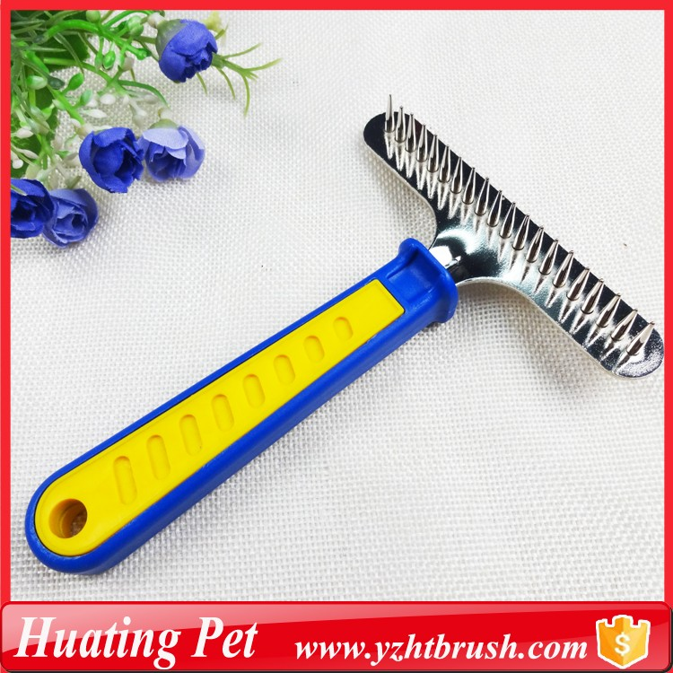 Eco friendly dog hair comb