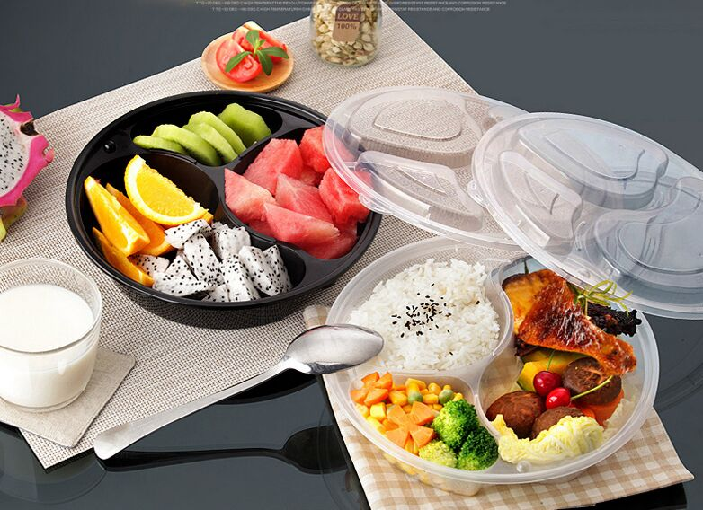 Disposable Microwave PP Plastic Food Container for Food Take Away