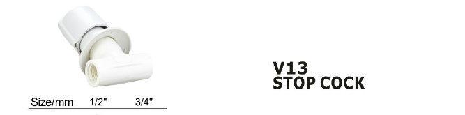 PVC Stop Cock Valve Control Valve (V13)
