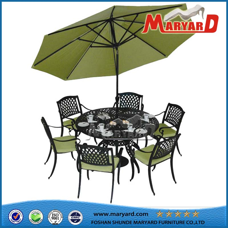 Wholesale Cast Aluminum Furniture Dining Cast Aluminum Sets