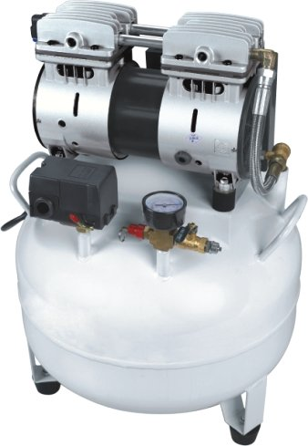 Dental Air Compressor with 40 Liter Gas Tank for Dental Chair