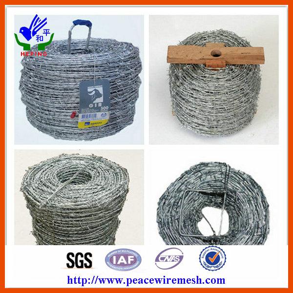 Galvanized Barbed Wire Fence Manufacturer (EBW-15)