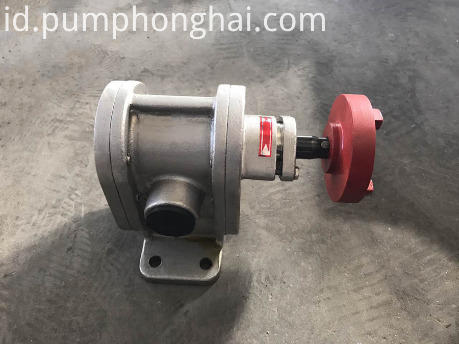 stainless steel material oil transfer gear pump