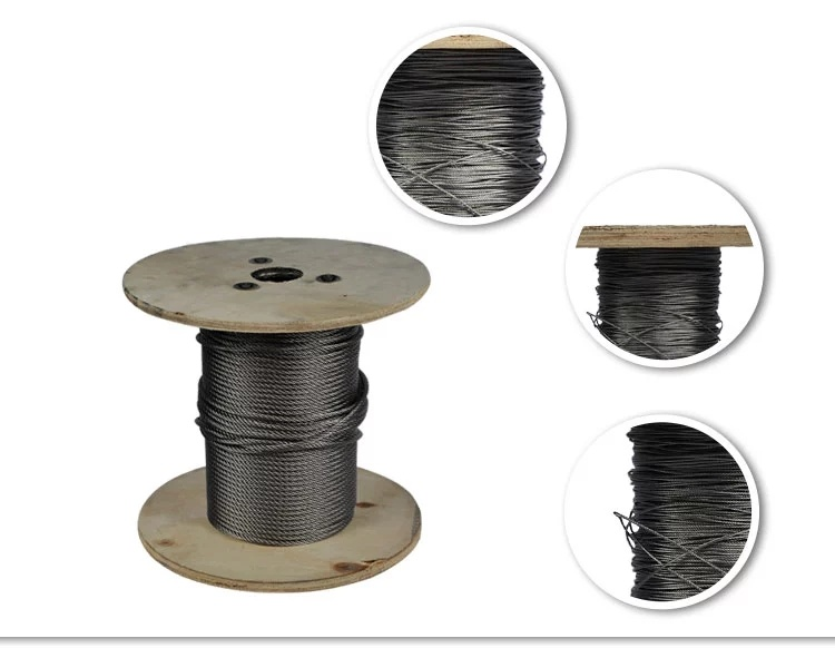 frayed wire rope