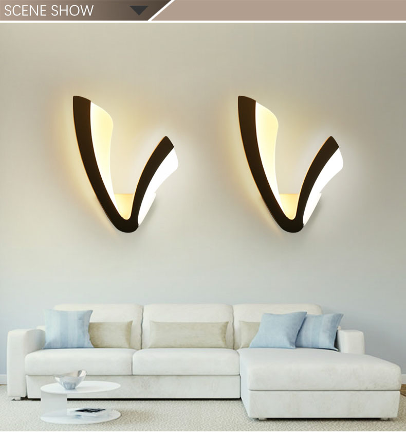 Ce RoHS Approved Simple Design LED Fancy Wall Light for Children