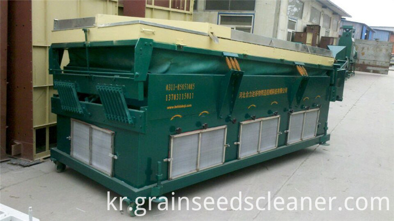 maize bean gravity separator