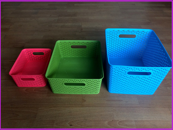 Plastic Injection The Thickened Grocery Basket Mould