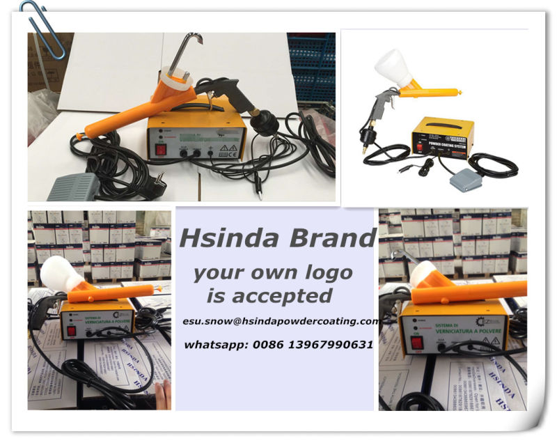 Cheap Portable Small Powder Coating Test System