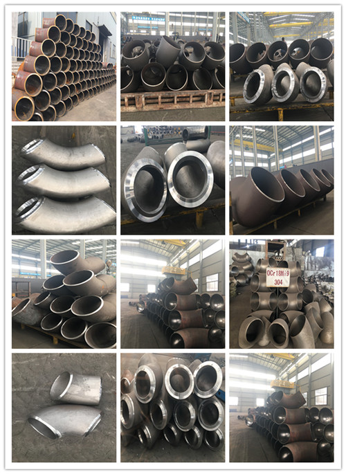 312 Stainless Steel Flange Elbows