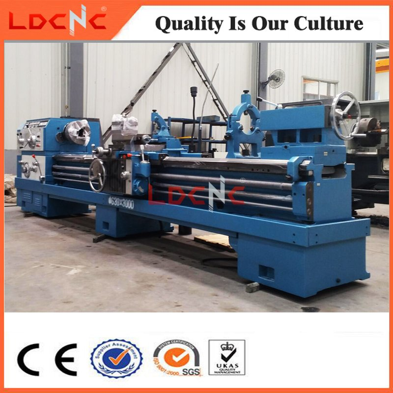 Cw6163 Light Duty High Precision Horizontal Lathe Machine for Steel