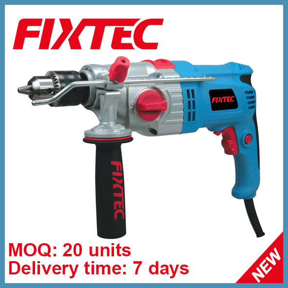 Fixtec Power Tool 13mm 1050W Impact Drill
