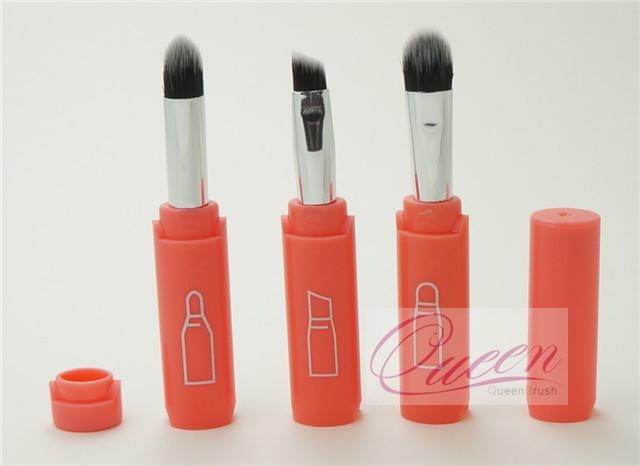 Hot Sale 3PCS Pink Eyeshadow Cosmetic Brush Set
