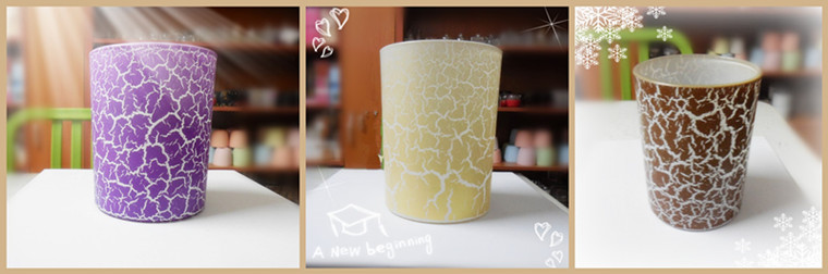 Custom Scented Candle in Glass Jar, Aarious Sizes Are Available