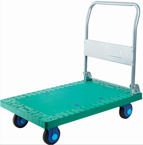 Plastic Handcart (895X595mm) (Green)