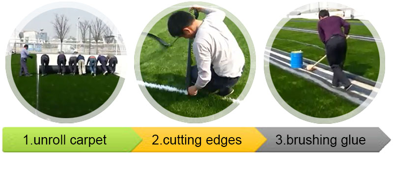 Tennis Turf Sports Artificial Grass (G-1241)