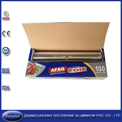 China Gold Housseld Aluminum Foil Manufacturer