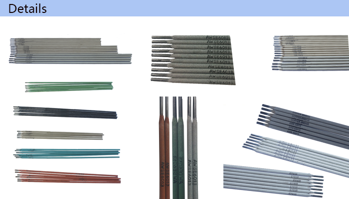 400mm Welding Electrodes