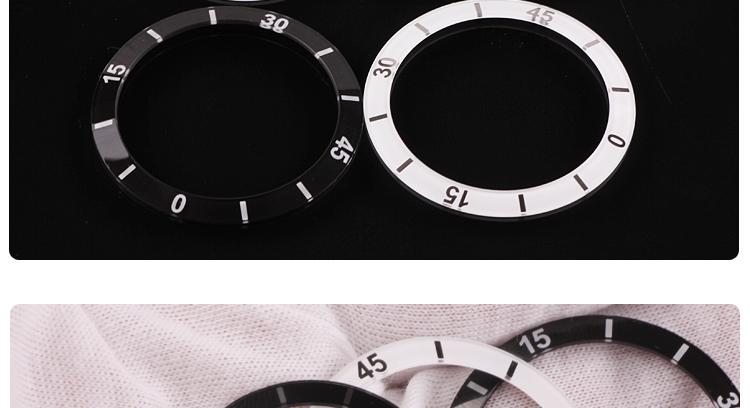 Ceramic Bezels for Handwatch Wristwatch Timepiece