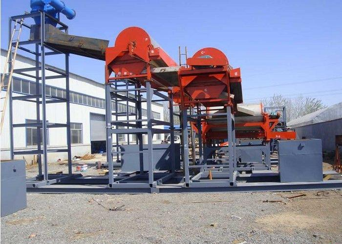 China Manufacturer Suspension Type Permanent Magnetic Separator for Sea Sand