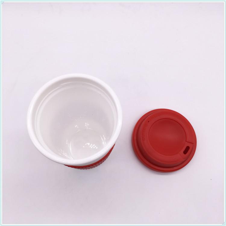 400ml Double Wall Plastic Coffee Mug (SH-PM18)