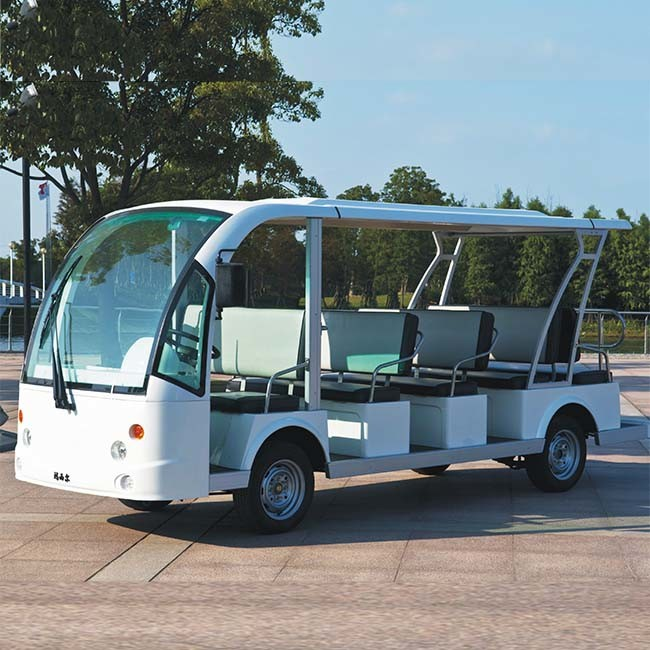 14 Seater Cheap Electric Sightseeing Vehicle for Sale Dn-14 with Ce (China)
