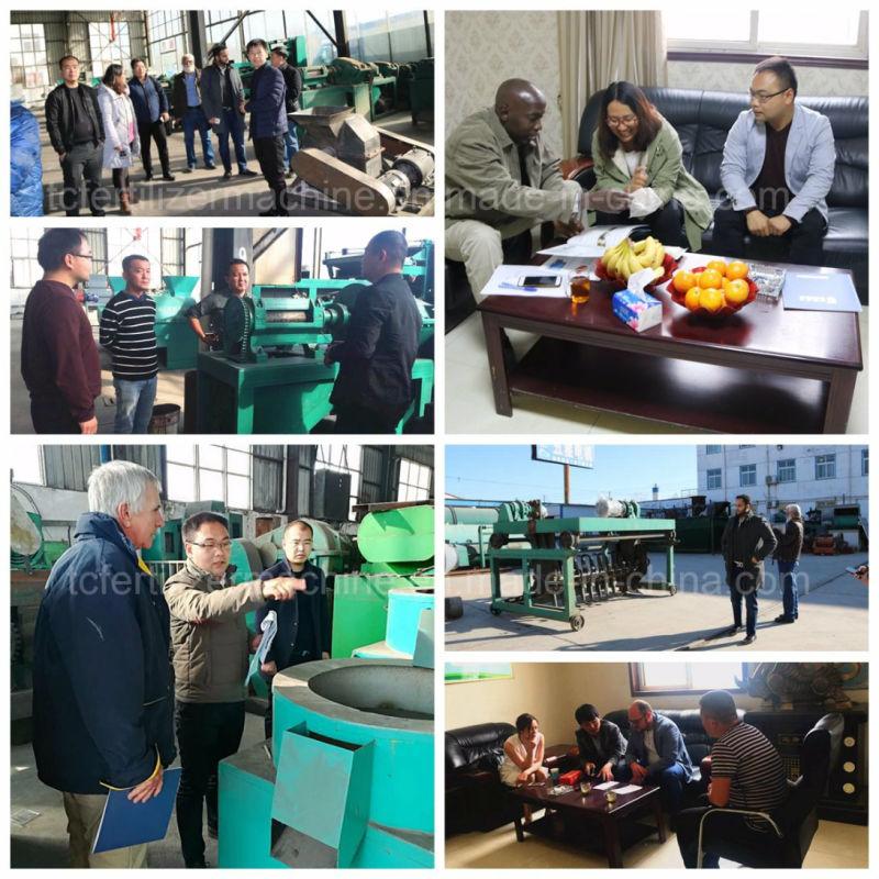 Factory Hot Selling Ball Shape Disk Organic Fertilizer Pellet Granulator