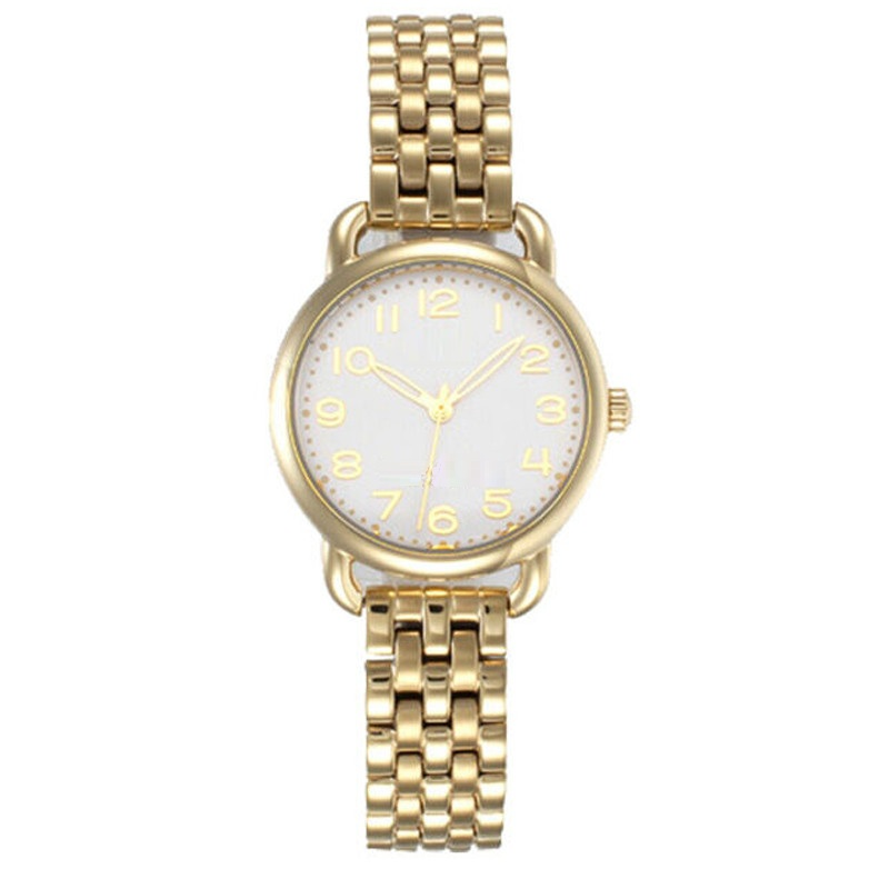 Ladies Bracelet Watch Rose Gold Plated