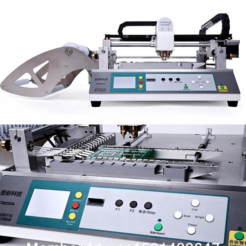 IC Mounter, Pick and Place Machine TM220A