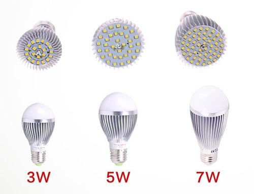 3W LED Bulb with CE RoHS (GN-HP-2835CW3W-G50-E27-SA)