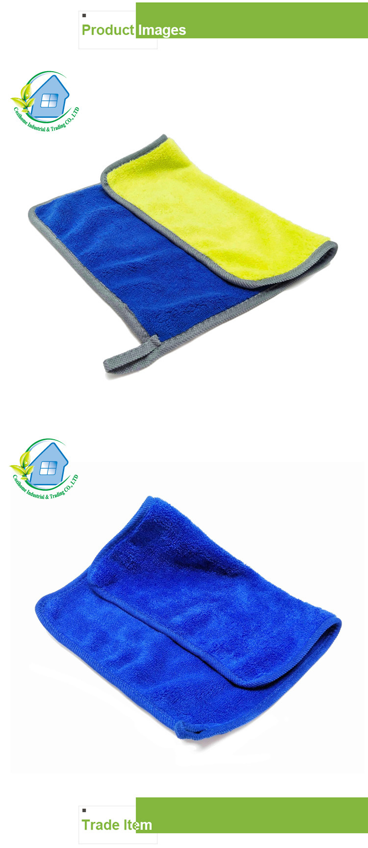 High Quality Colorful Microfiber Cleaning Cloth Car Wash Cloth 4041