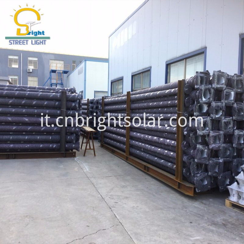 package for street light pole 8M