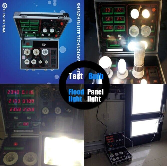 Shenzhen Lite LED Tube Bulb Light Display Power Meter