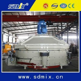 Max 750 Pneumatic Planetary Concrete Mixer Capacity 1m3 with Vertical Shaft