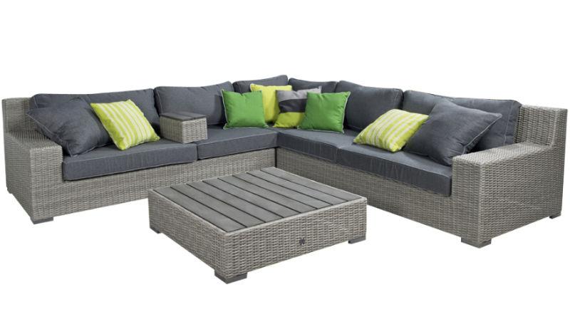 Garden Rattan Wicker Patio Sofa Set Outdoor Furniture