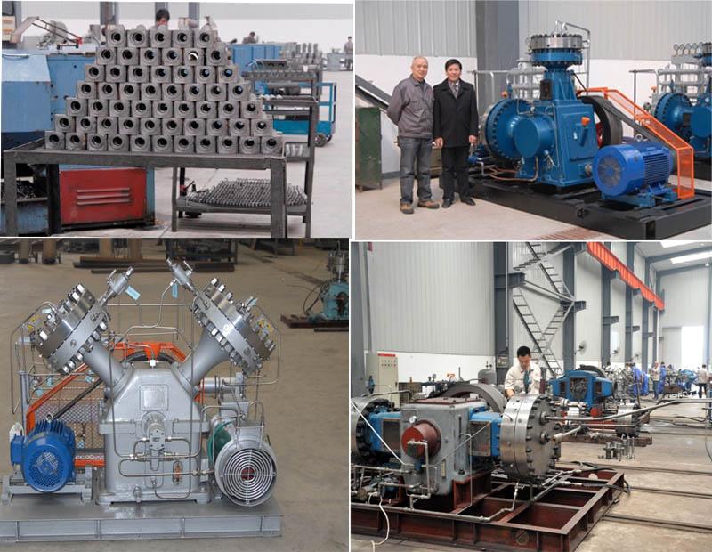 Diaphragm Compressor Oxygen Compressor Booster Nitrogen Compressor Helium Compressor Booster High Pressure Compressor (Gv-50/4-150 CE Approval)