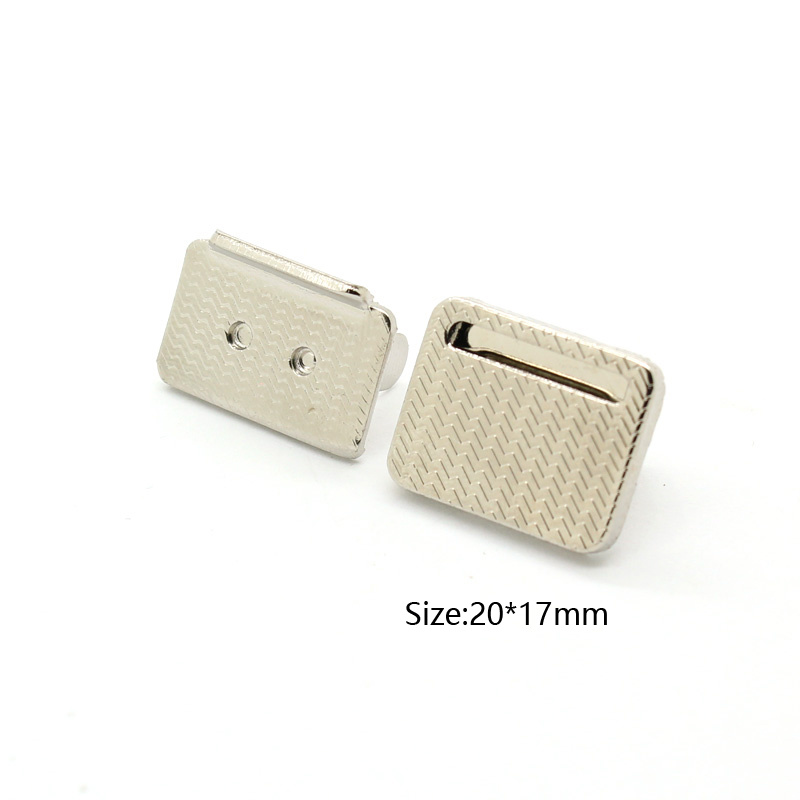 Rectangle Metal Magnetic Button for Clothes