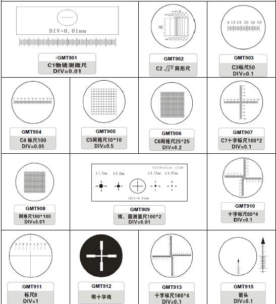 Microscope Accessory-Micrometer