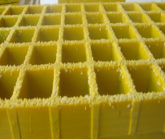 Molded Fiberglass Grating, Concave or Gritted Panel, Pultruded Grating.