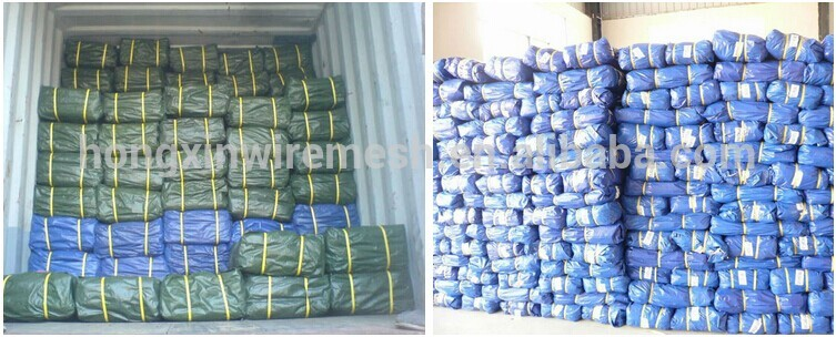 hebei tuohua tarpaulin bundle packing