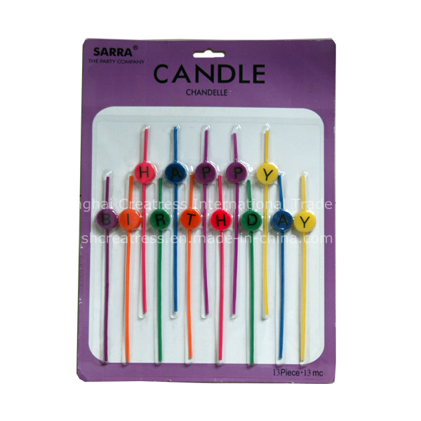 China Professional Produce Elegant Design Particular Magic Relighting Candles