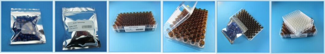 2ml Clear Glass Vial with Cap Septa