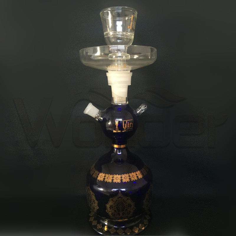 Dark blue Color Hookah for Smoking Pipe