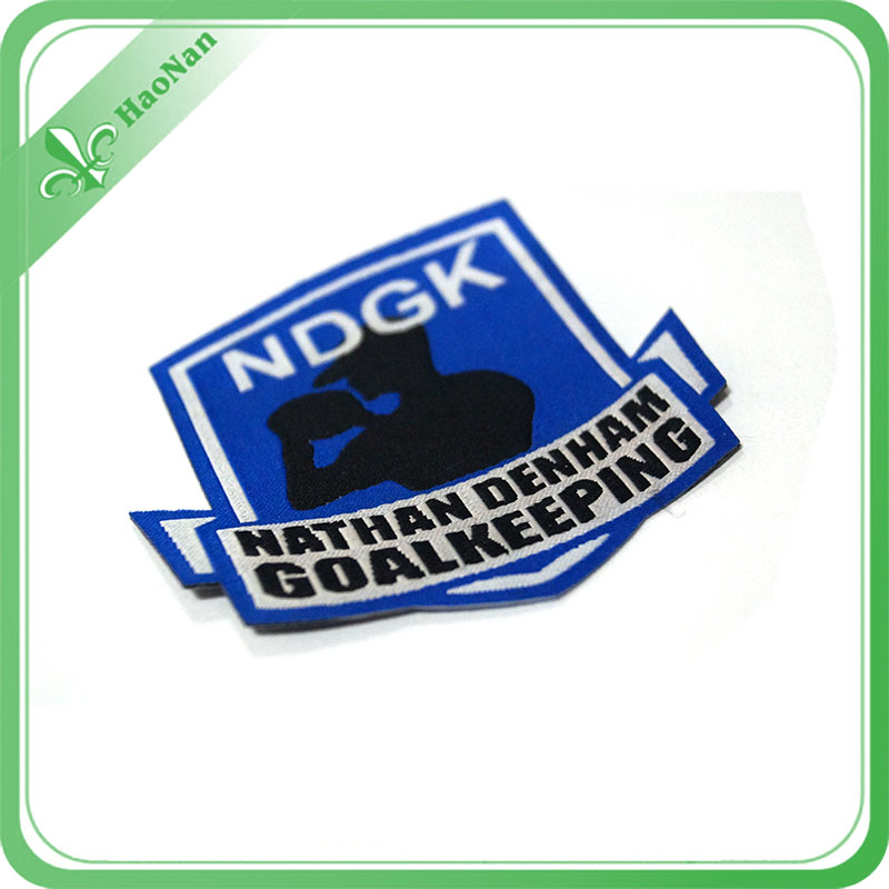 New OEM Custom Various Style Brand-New Professional Woven Badge