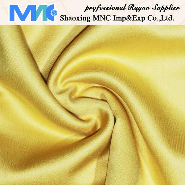 shinning rayon satin fabric