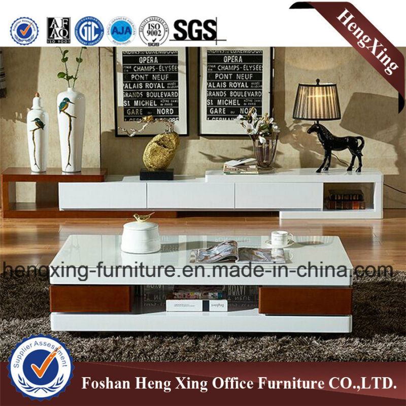 Modern Design Wooden Living Room Furniture TV Stand (HX-6M297)