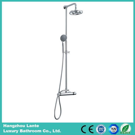 Luxury Chromed Stainless Steel Shower Column Sets (LT-J10)