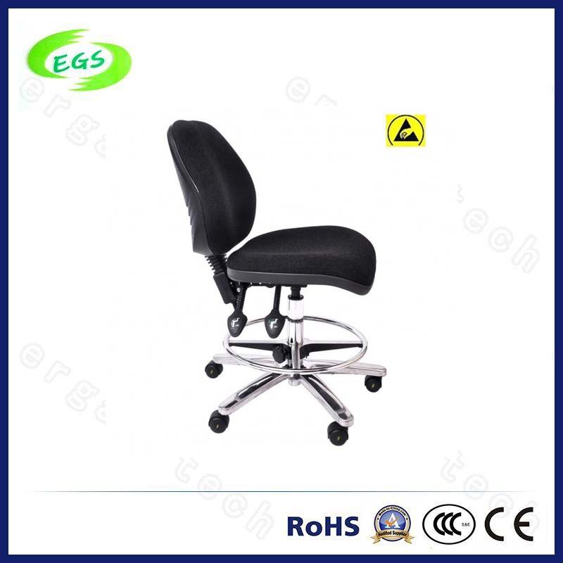 High Quality ESD Adjustable PU Leather Laboratory Chair