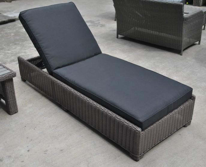 Garden Wicker Outdoor Rattan Patio Furniture Pool Sunlounger